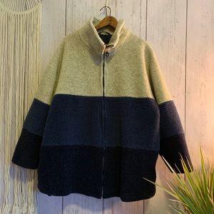 Vintage Coat Collectibles Colorblock Zip Up Jacket